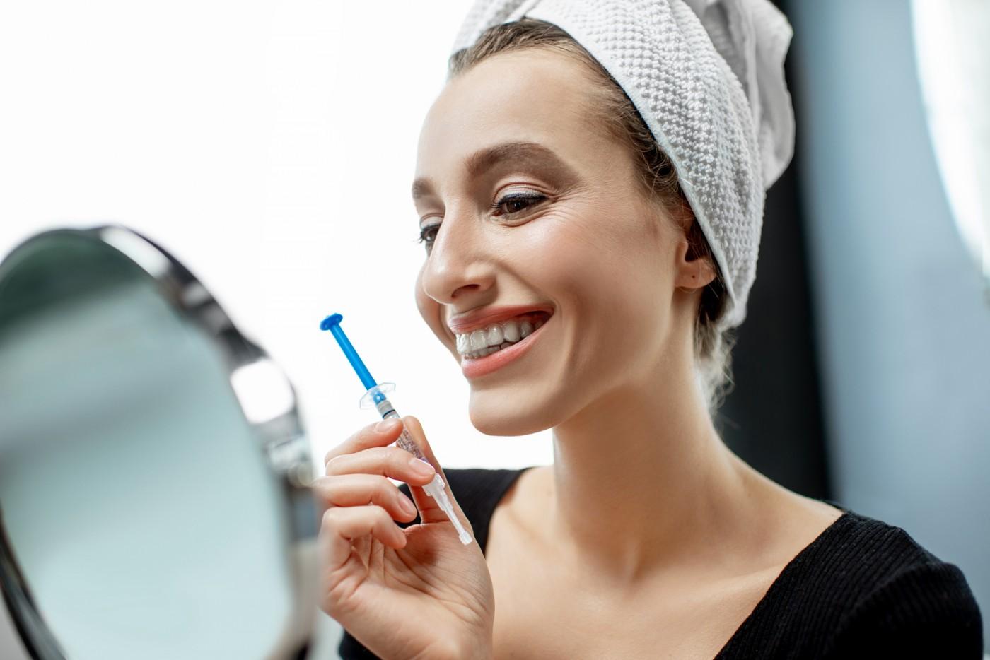 Albire dentară acasă - este periculoasă?