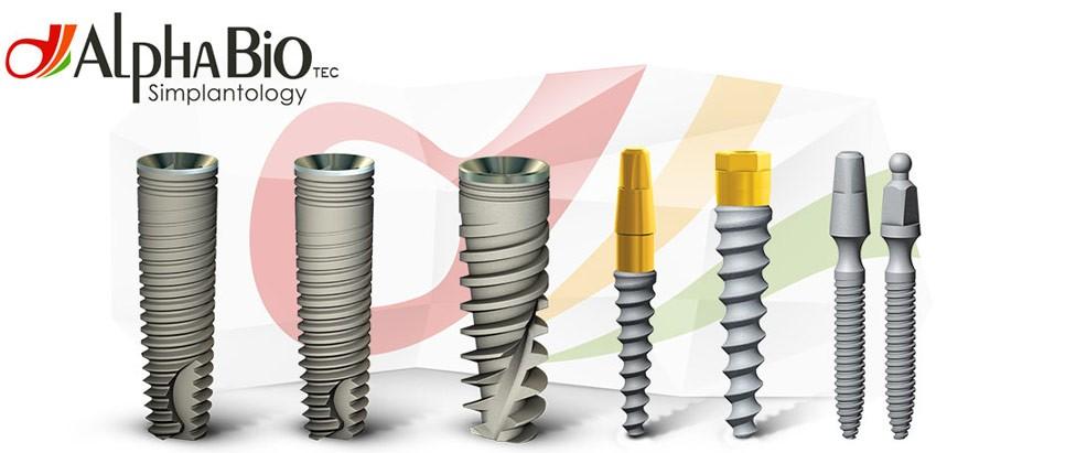 Implant dentar de top Alpha Bio